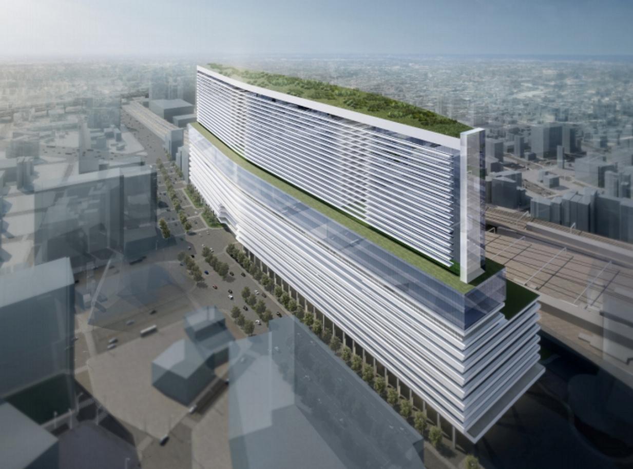 名古屋駅地区 再開発の展望